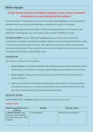 b media languages essay plan and theory media languages essay plan and theory