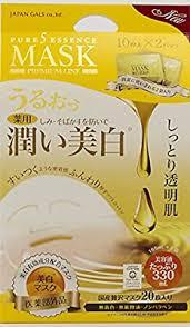 JAPAN GALS Pure Five Essence Mask Whitening ... - Amazon.com