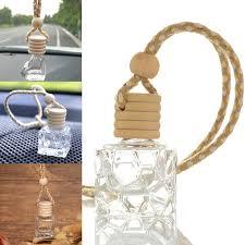 Glass Clear Refillable <b>Car Fragrance Perfume Air Freshener</b> ...
