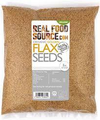 RealFoodSource Certified <b>Organic Golden</b> Flax / Linseeds (1KG ...