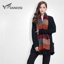 [VIANOSI] Fashion <b>Brand</b> Winter <b>Scarf Women Designer</b> Pashmina ...