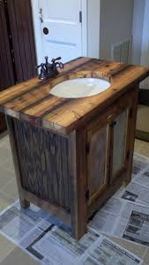 bathroom layout ideas rustic wooden vanity:  ideas about small rustic bathrooms on pinterest rustic bathrooms cabin bathrooms and rustic wood