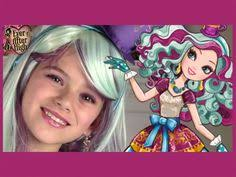 ever after high madeline hatter makeup tutorial kittiesmama