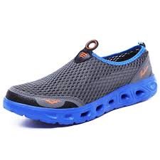 <b>IZZUMI Men's</b> Casual <b>Mesh</b> Upstream Shoes Dark Gray EU 44 ...