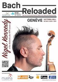 «<b>Nigel Kennedy</b>» – Bach Reloaded · monbillet.ch