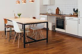Best Wood Flooring For Kitchens Contemporary Kitchen Contemporary Kitchen Flooring Ideas Flooring