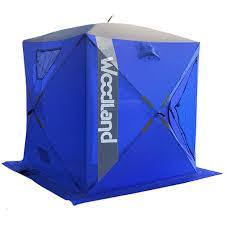 <b>Зимняя палатка куб WOODLAND</b> ICE FISH 4, 180х180х200 см ...