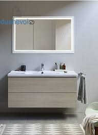 Комплект мебели <b>Duravit L</b>-<b>Cube 100</b> дуб кашемир, цена 244639 ...