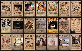 Résultat de recherche d'images pour 'image de one piece wanted'