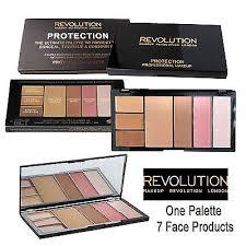 makeup revolution protection palette blush bronze highlight conceal med dark