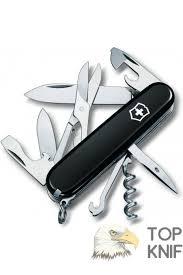 Нож <b>Victorinox Climber 1.3703.3</b> 91 мм 14 функций черный купить ...