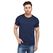 Buy VIMAL JONNEY <b>Men's Printed Round</b> Neck <b>Tshirt</b> at Amazon.in