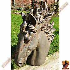 Garden <b>Horse</b> Head Statues for sale | eBay