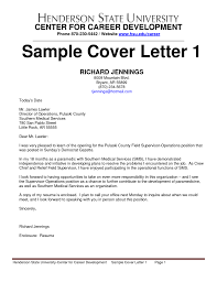 sample cover letter radiology