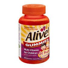 <b>Alive</b>! <b>Gummies Multi-Vitamin for</b> Children | Hy-Vee Aisles Online ...