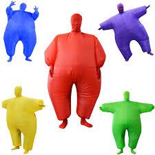10 Colors <b>Sumo Inflatable</b> Wrestling <b>Suit</b> Cosplay <b>Costumes</b> Inflated ...