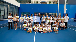 Philpott Children's Tennis and the WTA offer young players Rogers ...