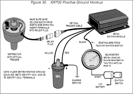 electronic ignition, crane allison xr700 Electronic Ignition Wiring Diagram diagram above is for negative earth connection (showing impulse tach) diagram below is for positive earth connection (showing inductive tach) ford electronic ignition wiring diagram