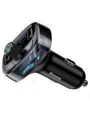 15% <b>BASEUS</b> Автомобильная <b>зарядка T</b> typed Bluetooth MP3 ...