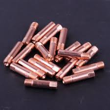 <b>20pcs</b> MB-15AK MIG/MAG <b>Welding Torch</b> Contact Tip M6 Copper ...