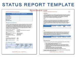 status report template word org status report template word