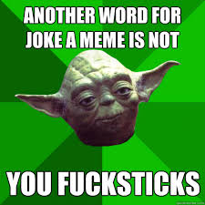 Conceited Yoda memes | quickmeme via Relatably.com