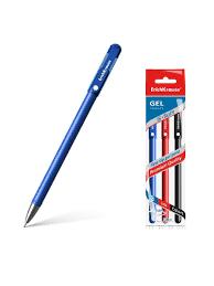 <b>Ручка гелевая ErichKrause</b> G-Soft, цвет чернил: синий, черный ...