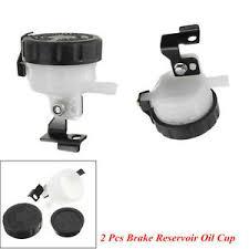 <b>Universal Motorcycle</b> Front <b>Brake Fluid</b> Bottle Master Cylinder Oil ...