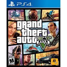 <b>Grand Theft</b> Auto V, Rockstar Games, <b>PlayStation 4</b> - Walmart.com ...