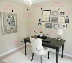 black desk office with office large size ways to decorate your room home decor other design white chair also black desk white home office
