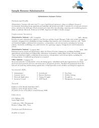 distribution clerk resume effective administrative assistant or clerk resume sample
