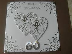HANDMADE <b>DIAMOND WEDDING</b> ANNIVERSARY <b>CARD</b> 60TH ...