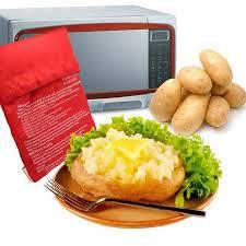 <b>1pc</b> Convenient Useful Bag <b>Potato</b> Express <b>Microwave Baked</b> ...