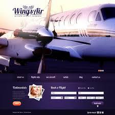 Private Airline WordPress Theme #40738