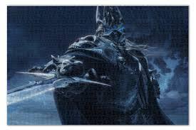 <b>Пазл 73.5</b>×<b>48.8 см</b> (1000 элементов) Lich King World of Warcraft ...