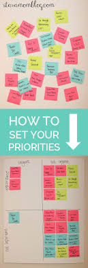 best ideas about how to set goals goal setting be more productive ridiculously simple method how to set your priorities