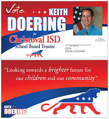 political campaign materials q s printing and design keith doering mailer 2