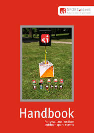 Handbook - Notes for <b>small</b> and medium <b>outdoor sport</b> events