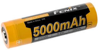 <b>аккумулятор Fenix</b> ARB-L21-5000 <b>21700</b> Li-Ion 5000 mAh ...