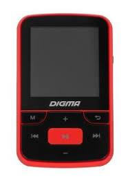 MP3 плеер <b>Digma T3 8Gb Черно-красный</b> купить недорого в ...