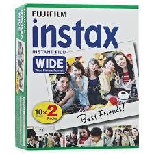 Фотопленка <b>Fujifilm</b> Wide <b>Glossy</b> для INSTAX 300/210 <b>Glossy</b> (<b>10</b> ...