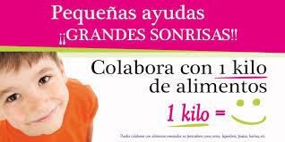 Resultado de imagen de solidaridad campaña del kilo
