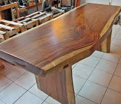 tall wood dining table
