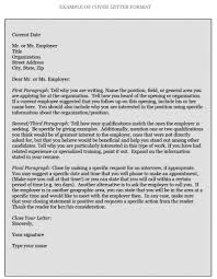 how to write cover letters how does a cover letter look like