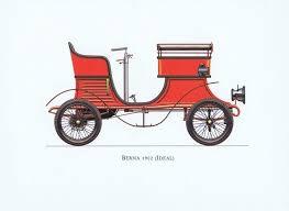 <b>Гравюра Ariel-P Ретро автомобиль</b> Берна Идеал (Berna Ideal ...