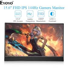 "<b>Eyoyo</b> EM15Z <b>15.6</b>"" FHD 1920X1080 Slim 144HZ Portable IPS ..."