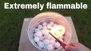 Why Are <b>Ping Pong Balls</b> So Flammable? Lighting 100 Ping Pong ...