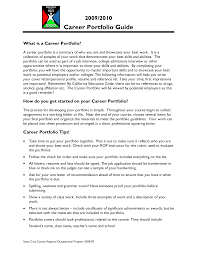 career portfolio doc tk career portfolio 23 04 2017