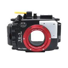 Olympus TG-5 60m 195ft <b>SeaFrogs</b> Underwater <b>Camera</b> Housing ...