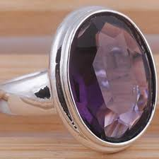 Fashion <b>Simple Geometric</b> Purple Crystal Zircon Women <b>Rings</b> ...